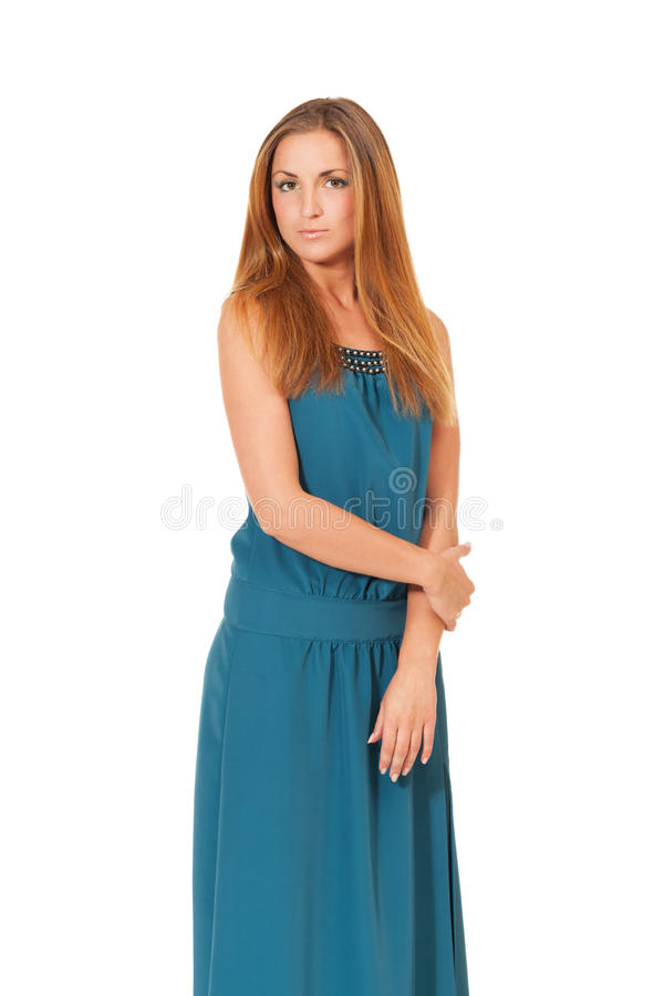 Download Simple beauty stock photo. Image of girl, long, caucasian - 26897376