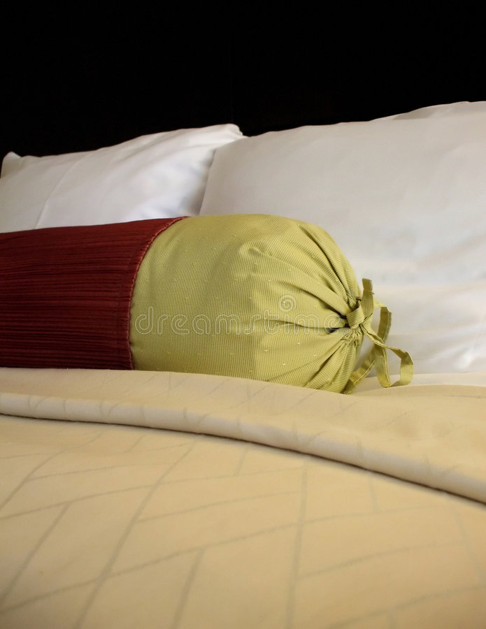 Simple Bed stock photo