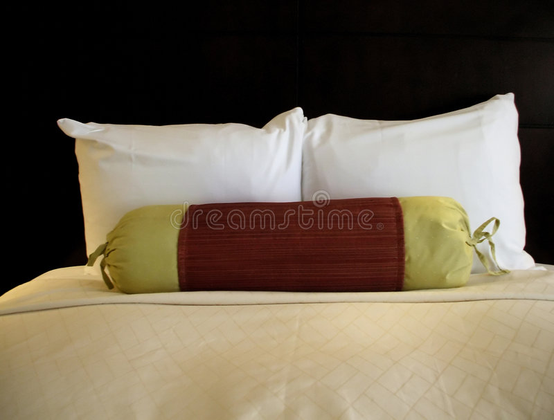 Simple Bed stock image