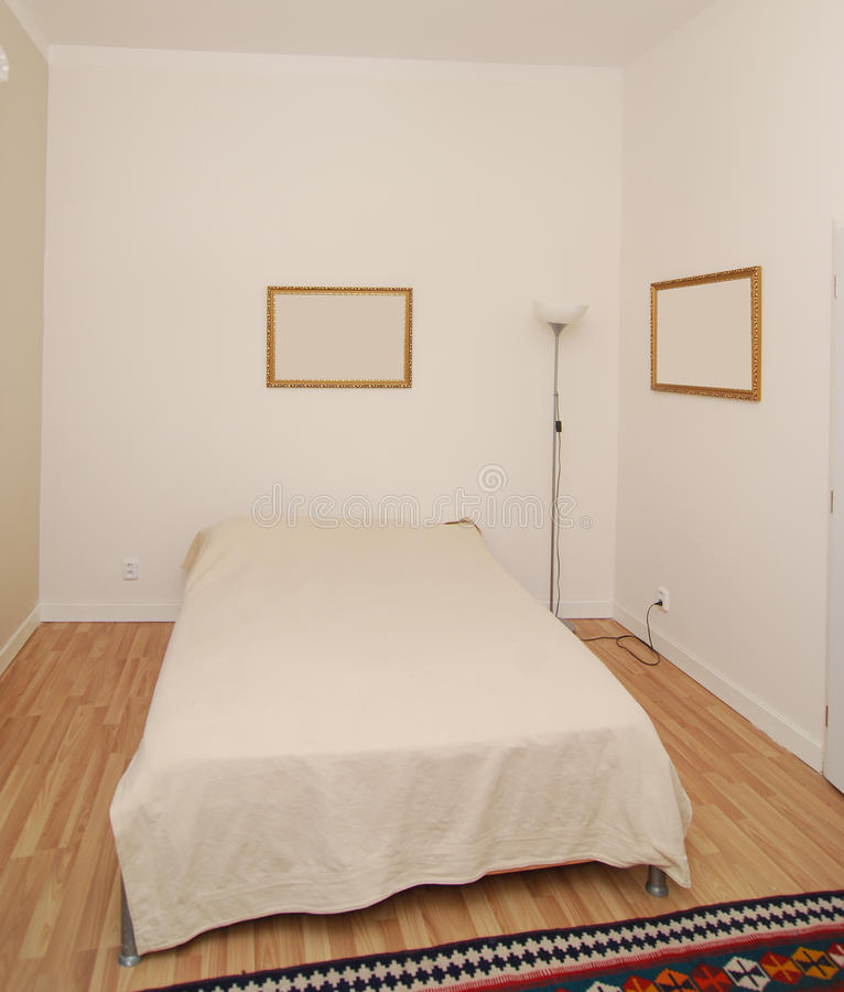 Download Simple bedroom stock image. Image of carpet, furniture - 23660933