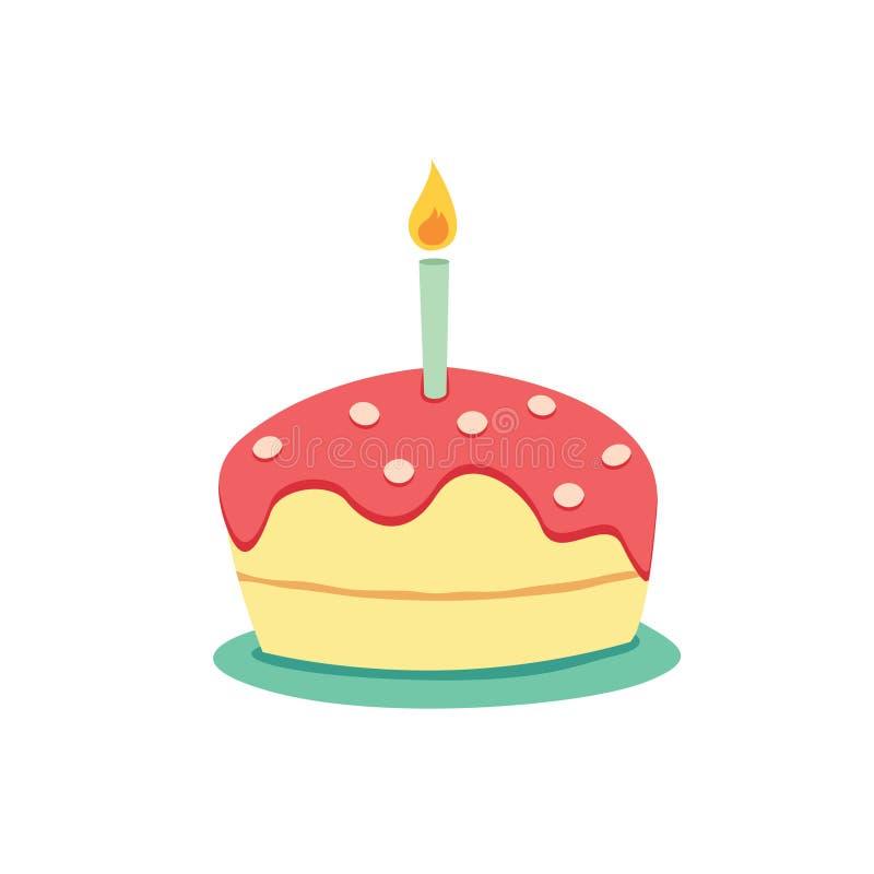 Prime Simple Birthday Cake Stock Illustrations 6 608 Simple Birthday Funny Birthday Cards Online Amentibdeldamsfinfo