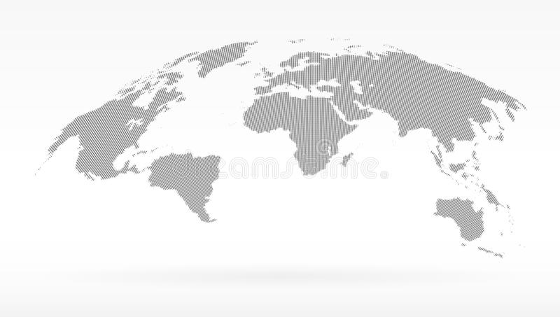 Simple black dots world map concept of infographics element trip download simple black dots world map concept of infographics element trip around globalization gumiabroncs Image collections