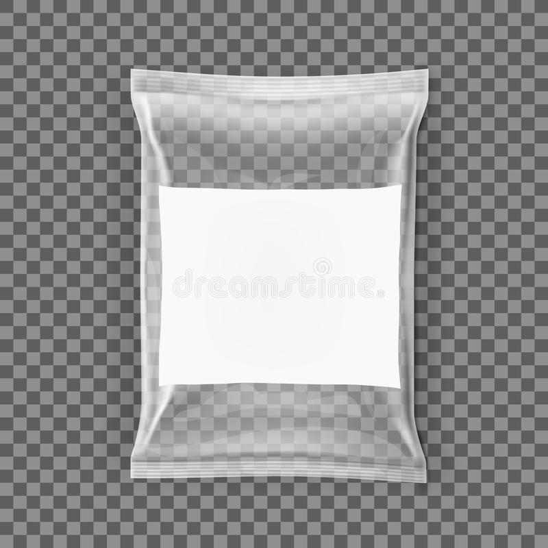 Simple Blank Doy Pack And Pillow Pack. EPS10 Vector vector illustration