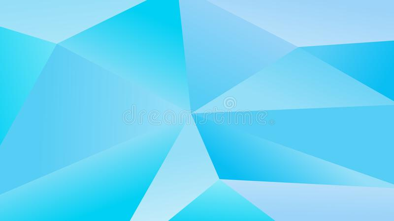 Download Simple Blue Polygonal Vector Graphic Background Stock
