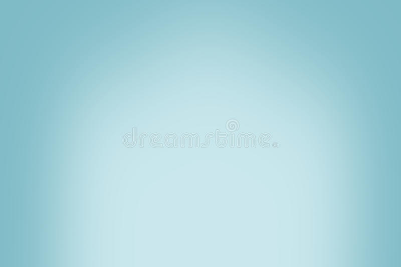 Simple blue vintage gradient abstract background stock photography