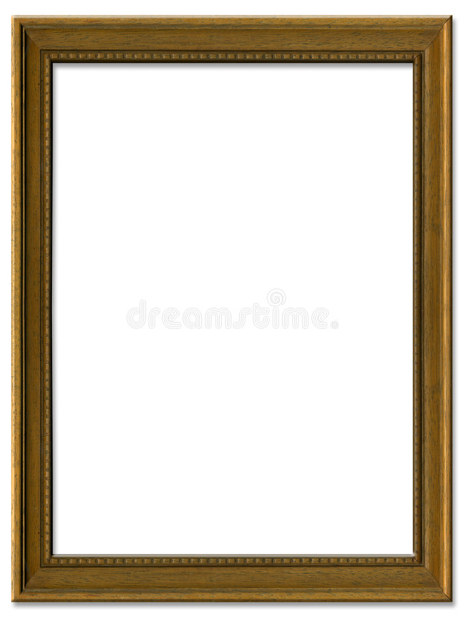 Free Simple Brown Picture Frame Stock Photo - 3447500