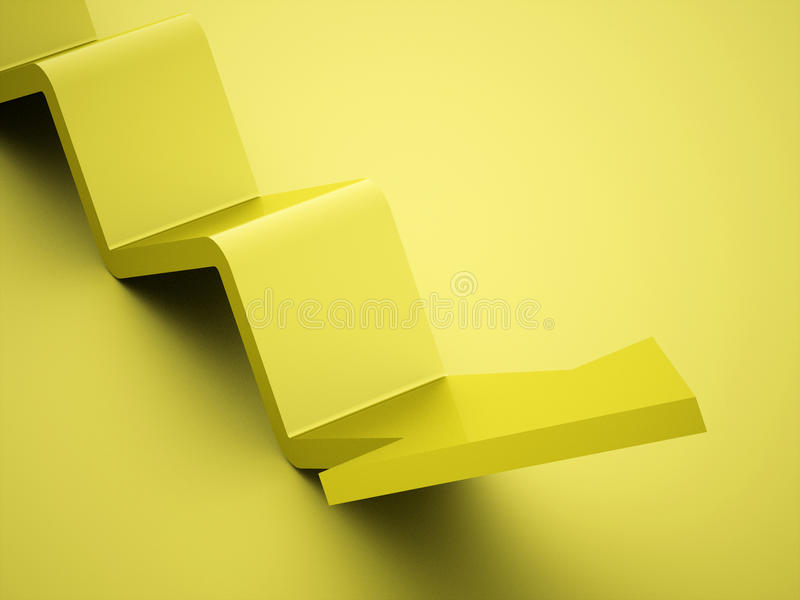 Simple business arrows icon rendered royalty free stock photo