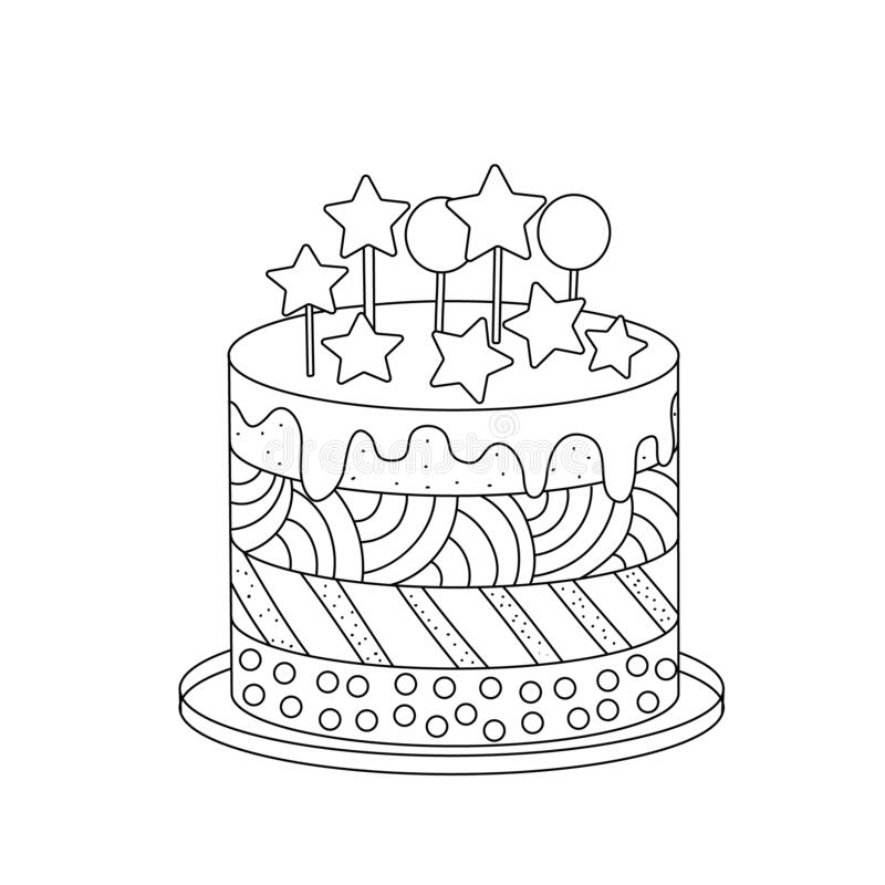 Simple Cake Stock Illustrations 20 103 Simple Cake Stock Illustrations Vectors Clipart Dreamstime