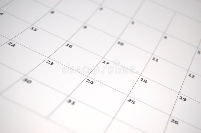 Simple calendar stock images