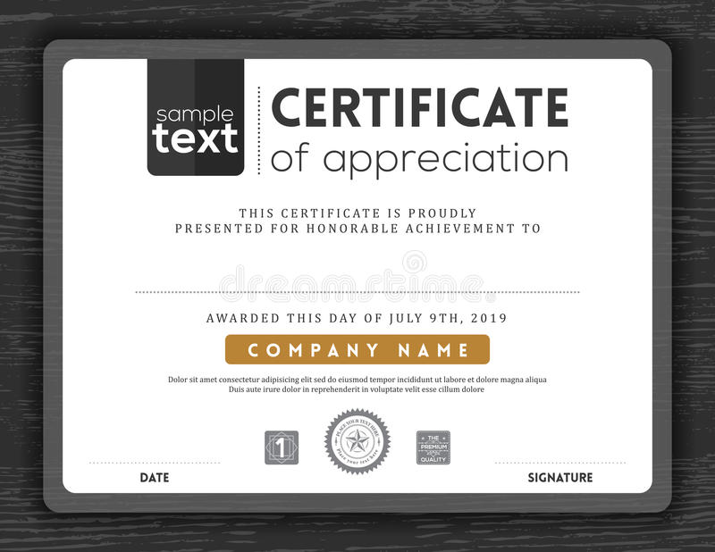 Simple certificate border frame design template stock vector download simple certificate border frame design template stock vector illustration of certificate invitation yadclub Choice Image