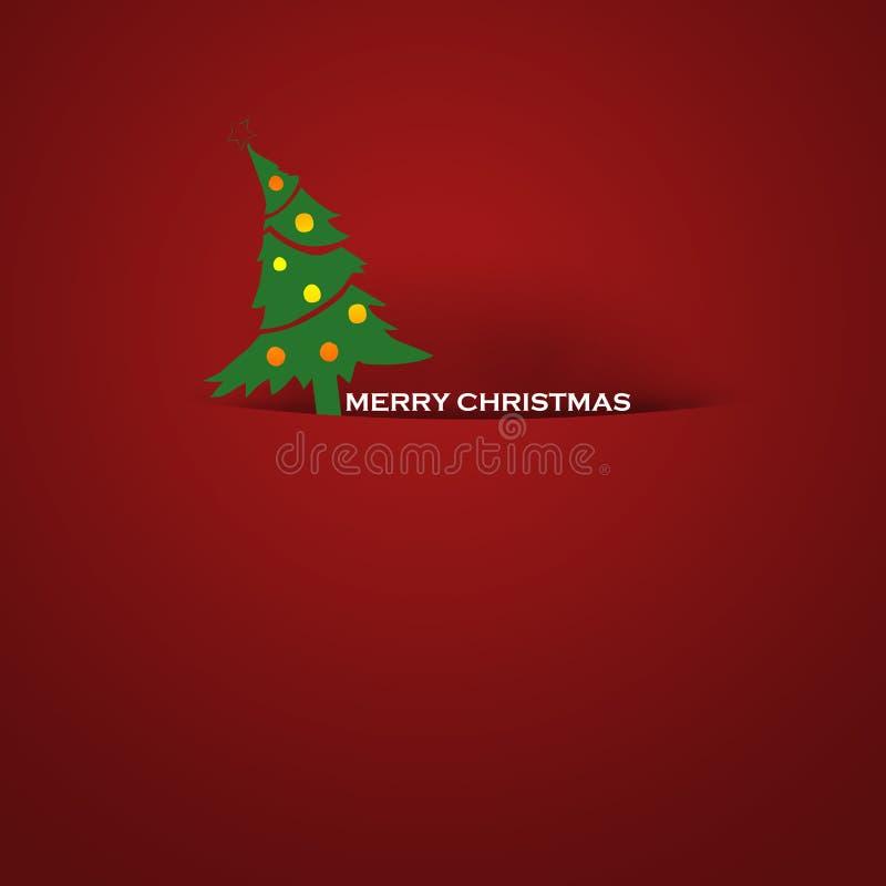 Simple Christmas card royalty free stock photos