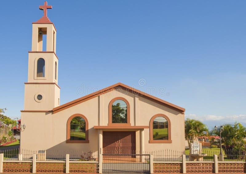 Simple Church-Costa Rica. Simple Catholic church located in San Isidro de Grecia, Costa Rica stock images