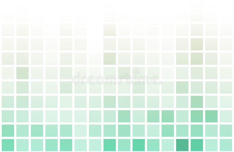 Simple Clean Block Abstract Background stock illustration