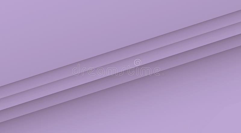 Simple clean diagonal lines geometric background illustration with copy space in color shades of lilac purple. Computer generated geometric clean, crisp, and royalty free illustration