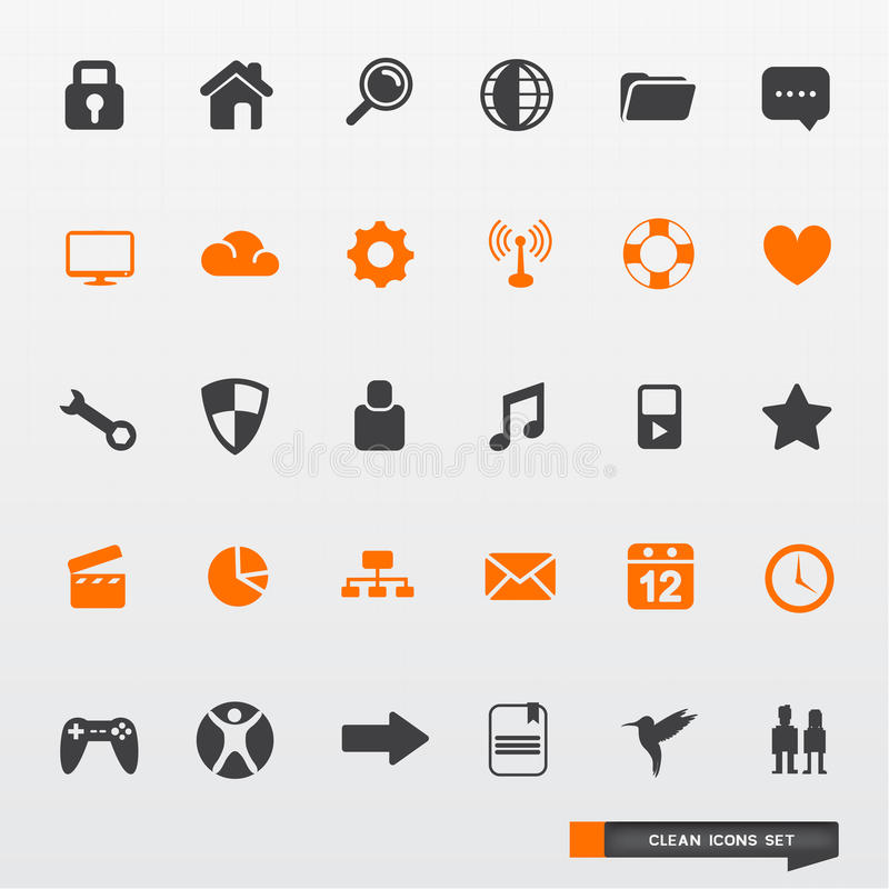 Simple & Clean Icon Set