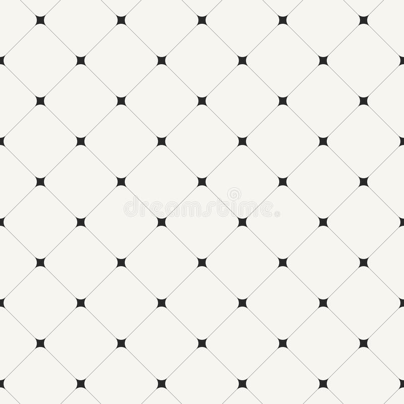 Simple clean modern diagonal tiles background - vector seamless. Pattern stock illustration