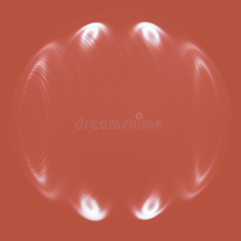 Simple coral color light background vector illustration