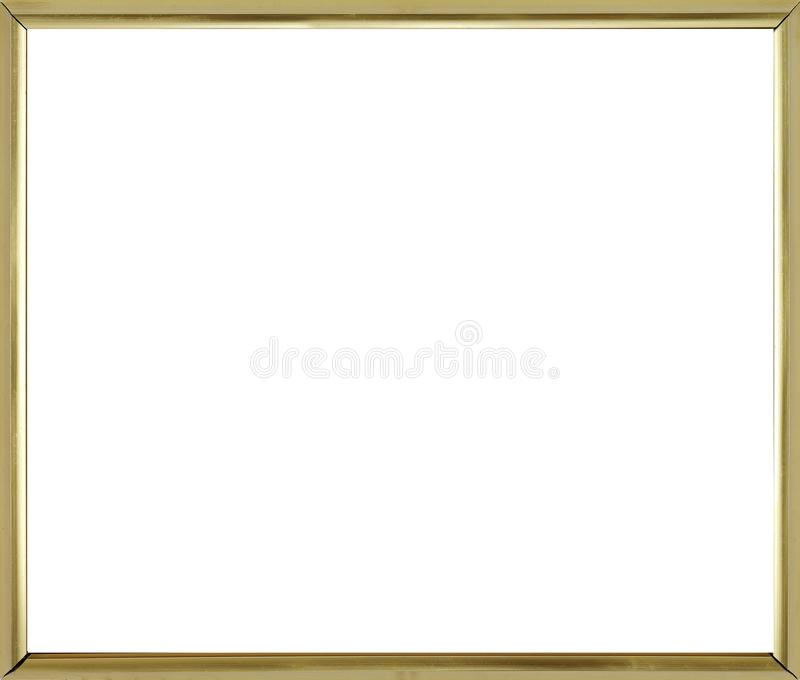Simple corner line frame. For picture and photo royalty free stock photo
