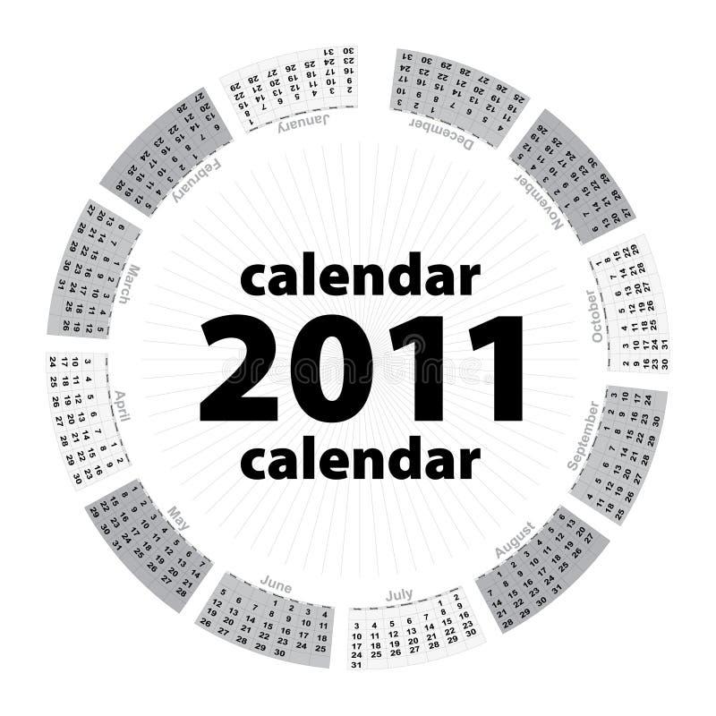 Download Simple Creative Calendar Of 2011 Stock Vector - Illustration of copy, calender: 15723118