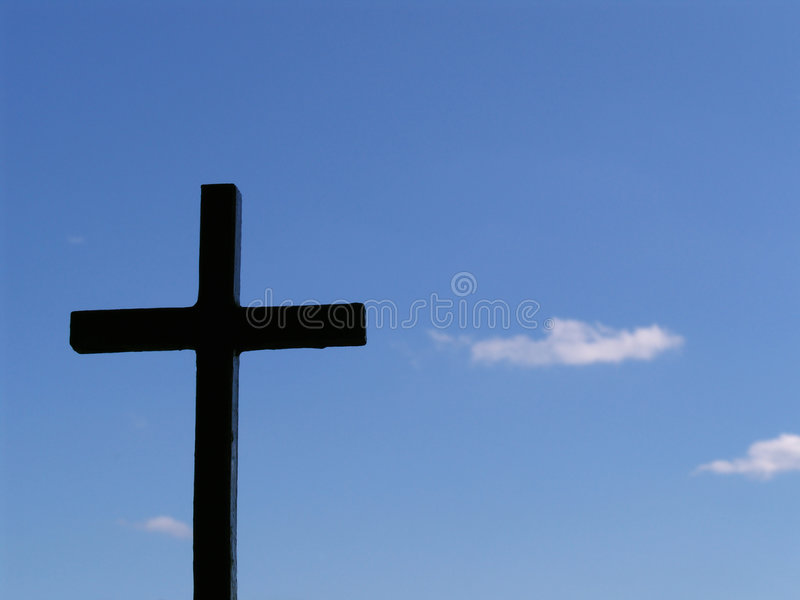 Download Simple cross stock photo. Image of heaven, christian, simplicity - 149876