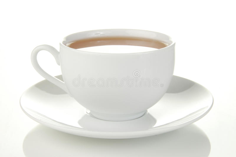 Simple Cup Of Tea Stock Photos