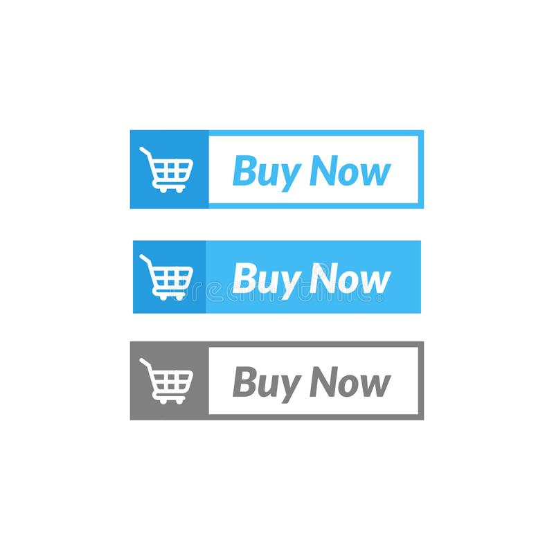 Simple design of buy now button. online shop icon material. Design, action, add, apps, banner, basket, business, cart, checkout, click, computer, concept stock illustration