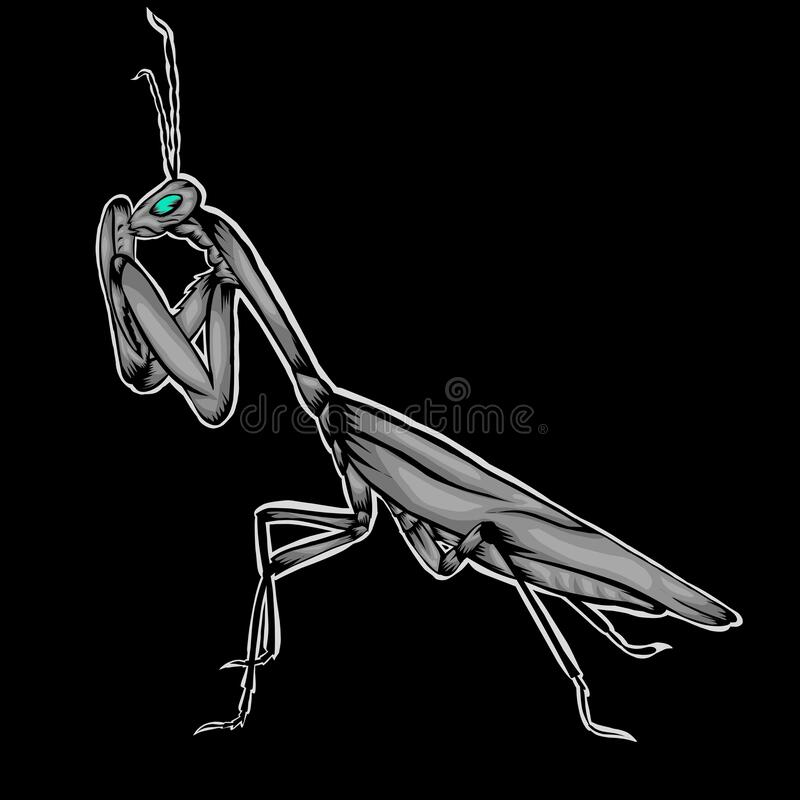 Mantis Tattoo Stock Illustrations 63 Mantis Tattoo Stock