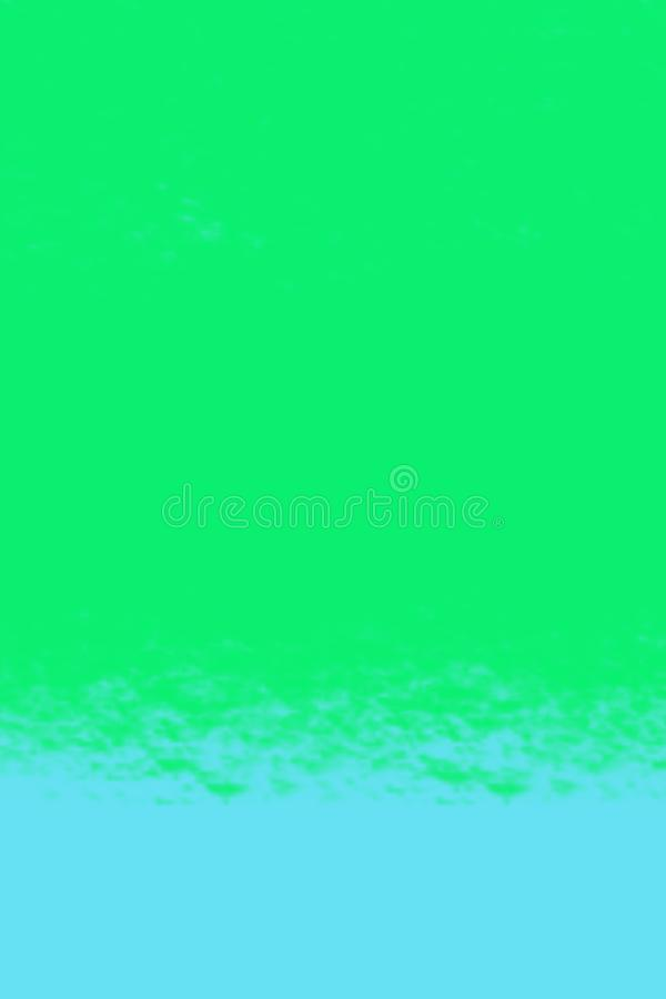 Simple, digitally painted background in bright colours. Simple, digitally painted background in bright blue and green colours royalty free stock image