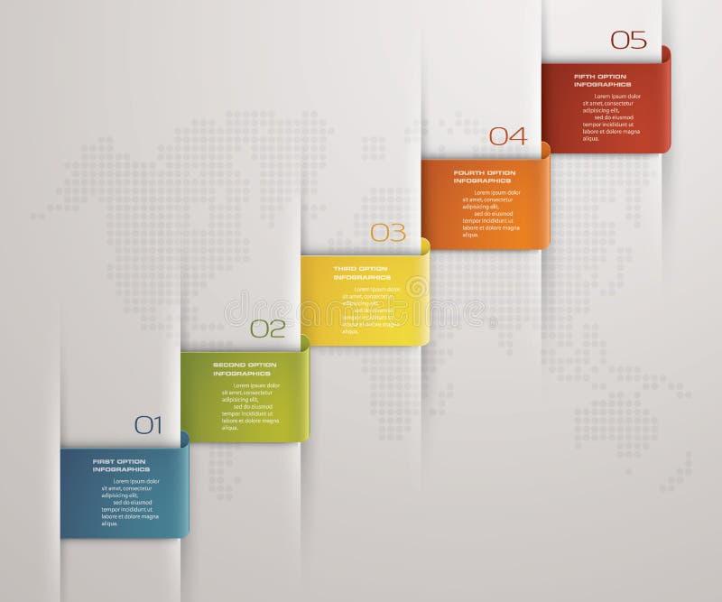 Simpleeditable 5 steps chart diagrams templategraphic or website download simpleeditable 5 steps chart diagrams templategraphic or website layout vector stock ccuart Choice Image