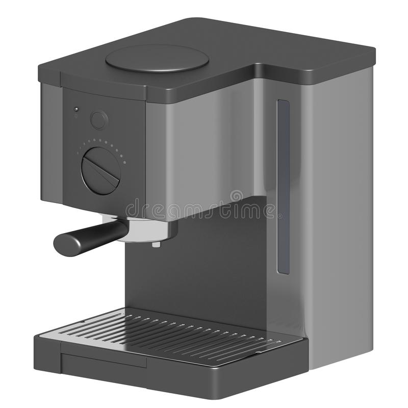 Download Simple espresso machine stock illustration. Image of isolated - 13083919