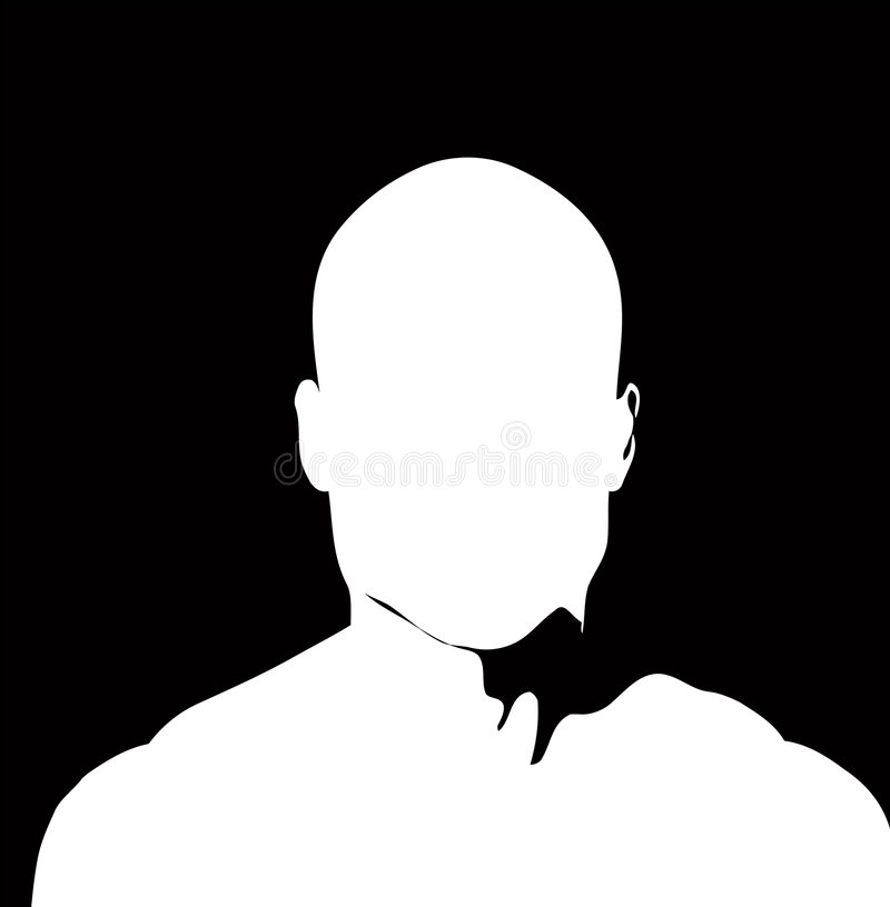 Download Simple Face stock illustration. Image of white, adult - 1031211