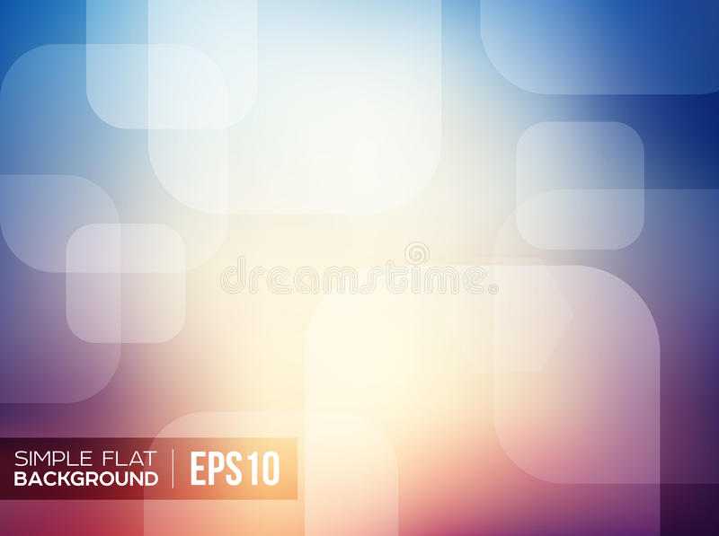 Simple flat gradient background royalty free illustration