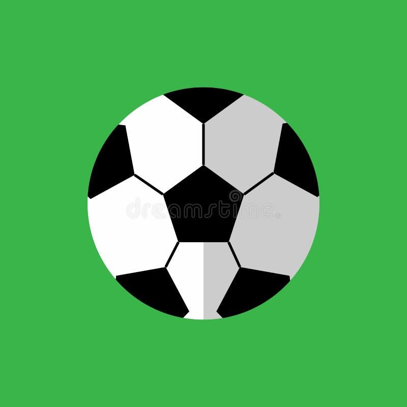 Simple Flat Style Football Sport Vector Illustration Graphic stock illustration