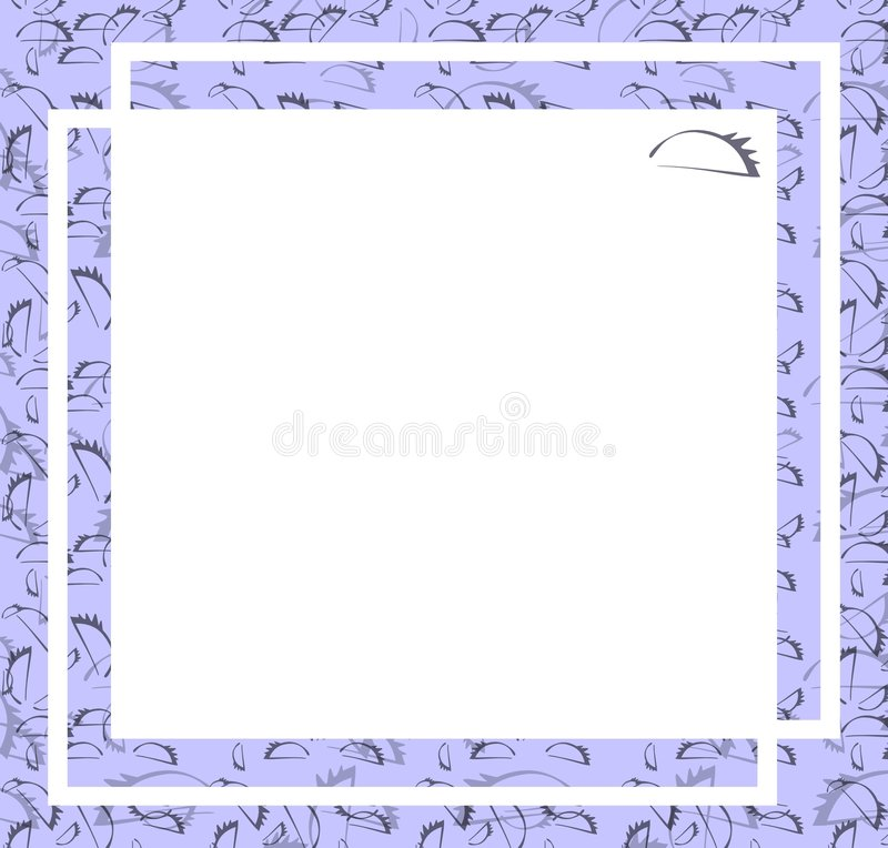 Simple frame royalty free stock image