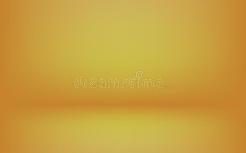 Simple Gold Studio Background Used As Display Your Products Montage Design Backdrop Stock Vector Illustration Of Floor Effect 151200864
