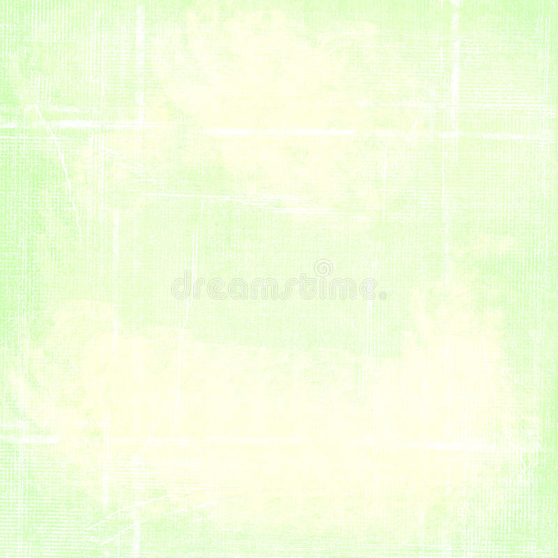 Simple Green Worn Folded Grunge Paper Background vector illustration
