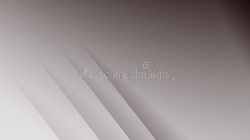 Simple grey modern abstract fractal background illustration with parallel diagonal lines. Text area. Professional business style. Creative template for stock illustration