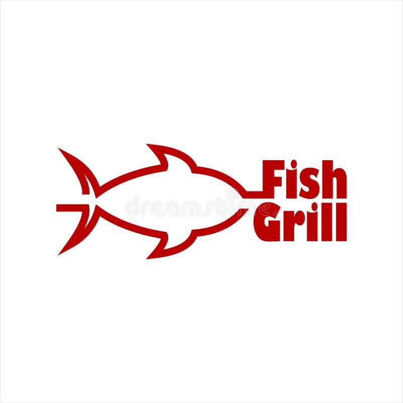 Grill Bar Restaurant Logo . Grill Fork And Spatula. Vintage