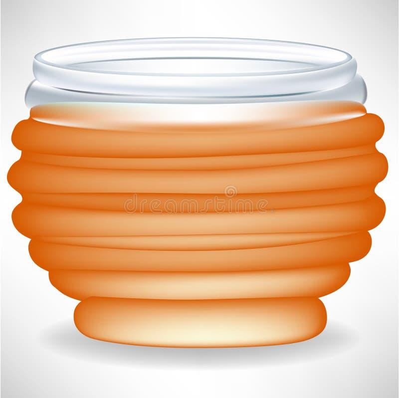 Download Simple honey jar stock vector. Illustration of ingredient - 21620097