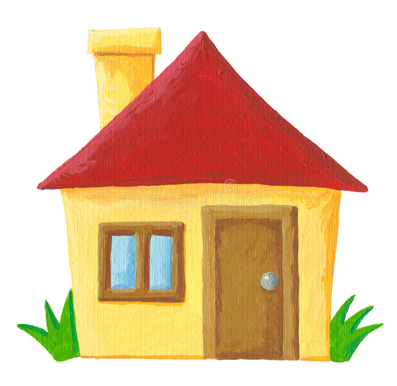 Download Simple house stock illustration. Illustration of estate - 27536177