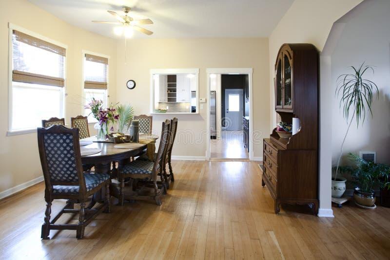Simple House Interior stock photo. Image of hall, floors - 18973142