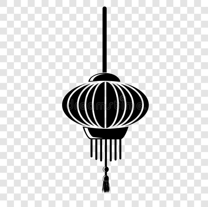 Free Simple Icon Chinese Lantern At Transparent Effect Background Royalty Free Stock Photos - 137539928