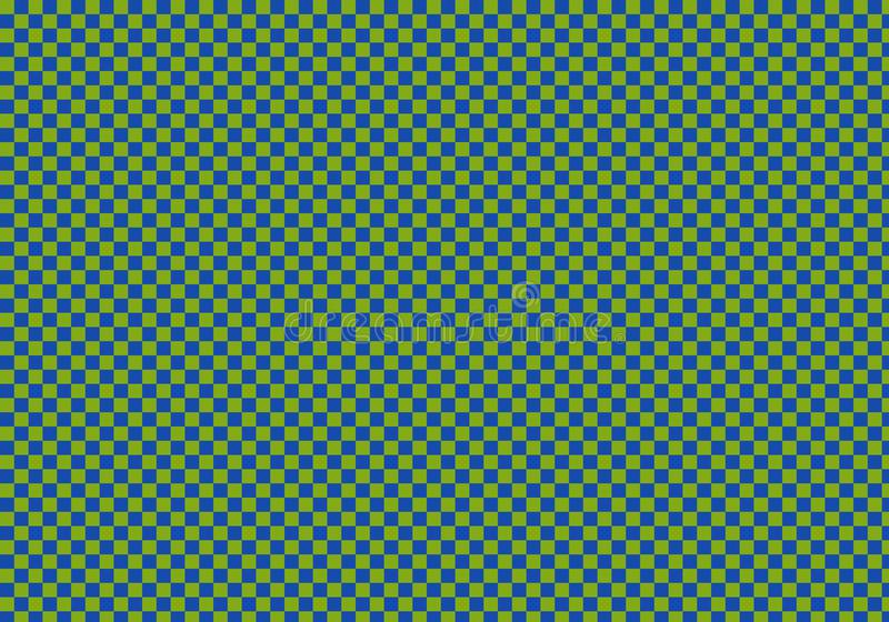 Abstract background with chess pattern stock illustration