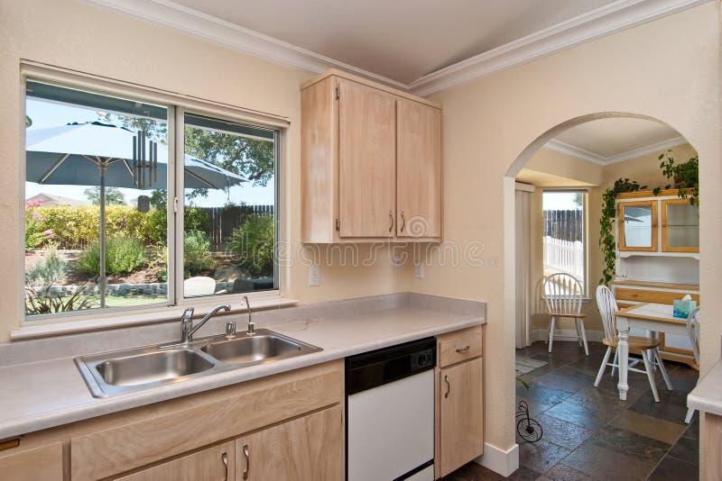 Simple kitchen stock photo. Image of estate, style ...