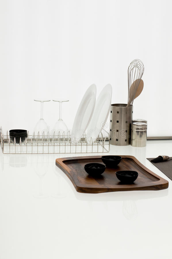 Simple Kitchen Ware royalty free stock image