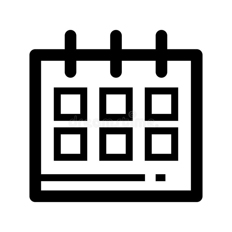 calendar icon design vector illustration stock vector illustration rh dreamstime com  calendar icon vector cdr