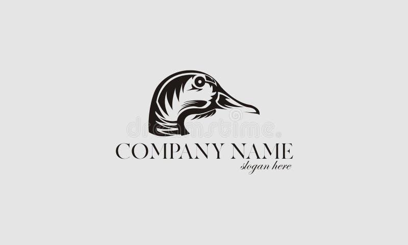 Duck logos stock photos