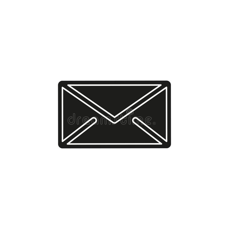 Simple Mail Vector Icon. Simple Mail isolated. Flat pictogram - simple icon vector illustration