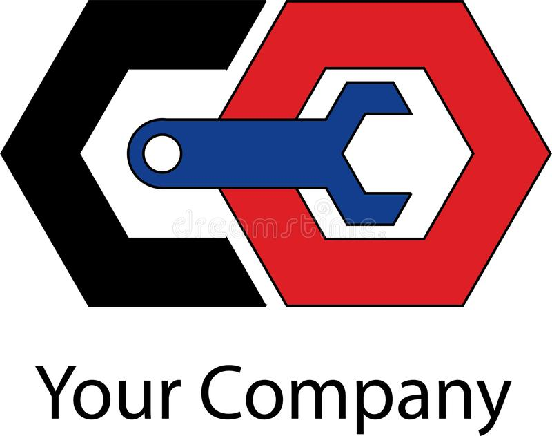 simple mechanical logo stock illustration illustration of weblogo rh dreamstime com mechanical logic mechanical logic toy