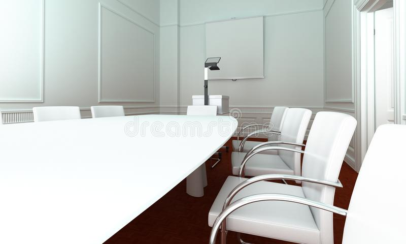 Simple meeting room stock photography